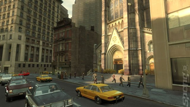 Grand Theft Auto IV  Editorial image