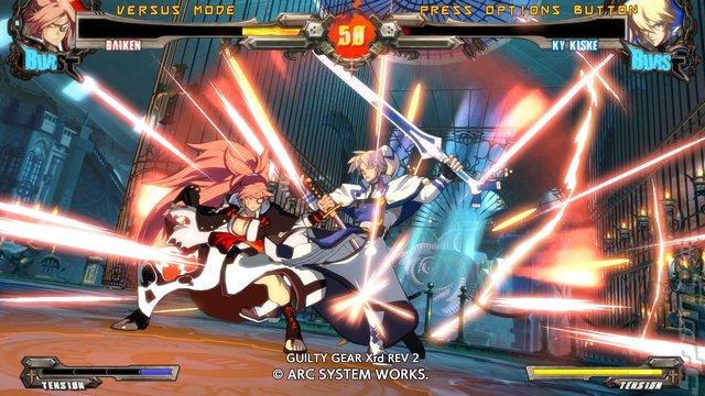 GUILTY GEAR Xrd REV 2 - PS4 Screen