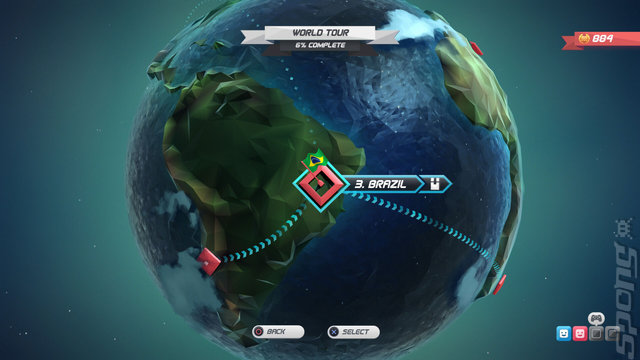 Horizon Chase Turbo - Switch Screen
