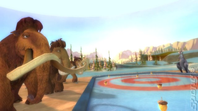 Ice Age 4: Continental Drift: Arctic Games - PS3 Screen