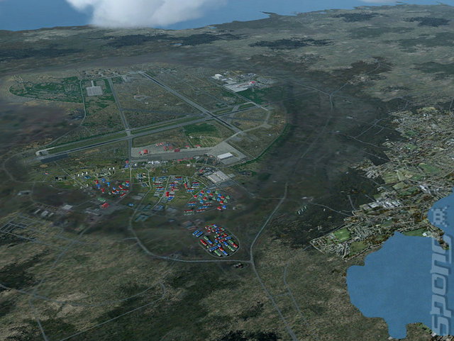 Iceland & Keflavik Scenery Pack - PC Screen