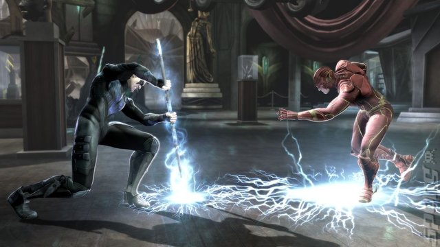 Injustice: Gods Among Us: Ultimate Edition - PSVita Screen