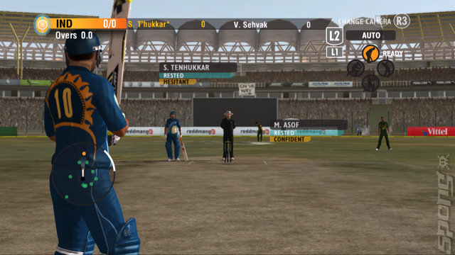 International Cricket 2010 - Xbox 360 Screen
