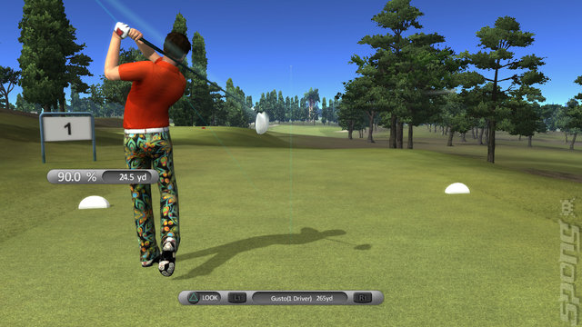 John Daly's ProStroke Golf - PS3 Screen