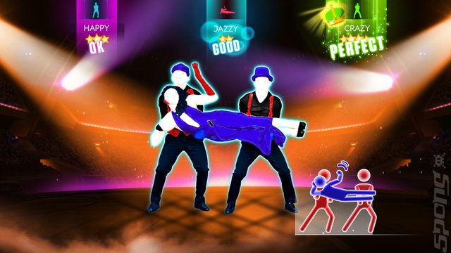 Just Dance 2014 - Xbox 360 Screen