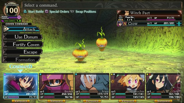 Labyrinth of Refrain: Coven of Dusk - Switch Screen