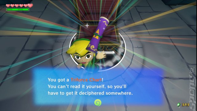 Legend Of Zelda: The Wind Waker - Wii U Screen