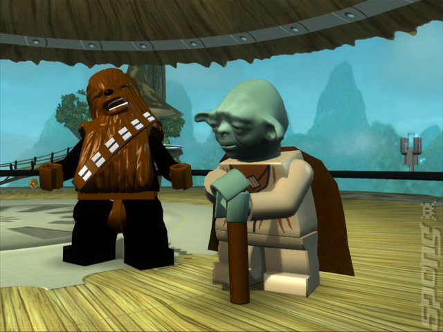LEGO Star Wars: The Complete Saga - Wii Screen
