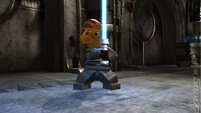 LEGO Star Wars III: The Clone Wars - PC Screen