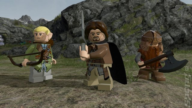 LEGO: The Lord of the Rings Editorial image