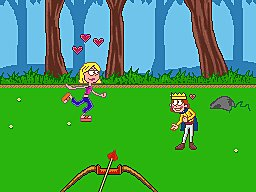 Lizzie McGuire 3: Homecoming Havoc - GBA Screen