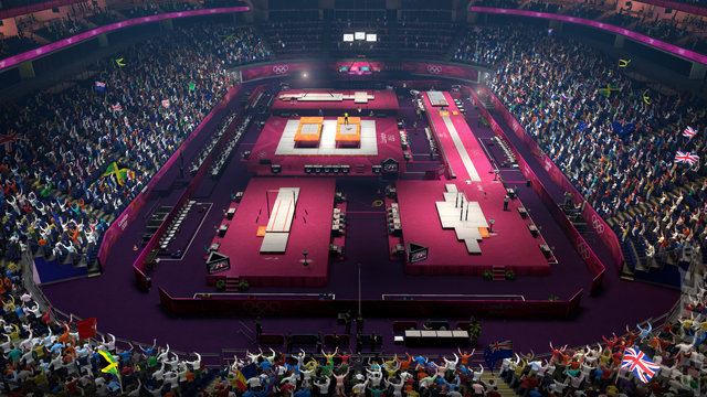 London 2012: The Official Video Game of the Olympic Games - PS3 Screen