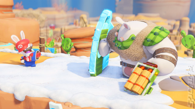 Mario + Rabbids Kingdom Battle Editorial image