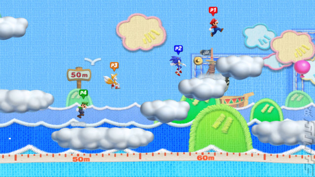 Mario & Sonic at the London 2012 Olympic Games - Wii Screen