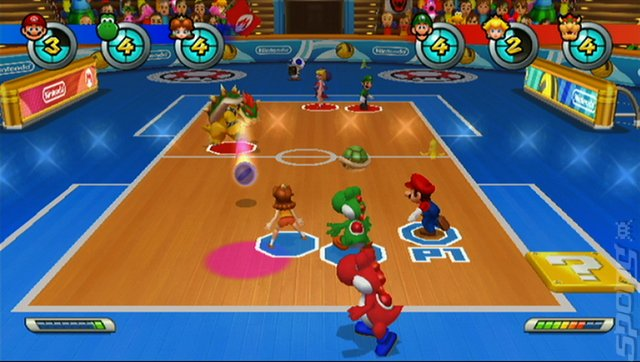 Mario Sports Mix - Wii Screen