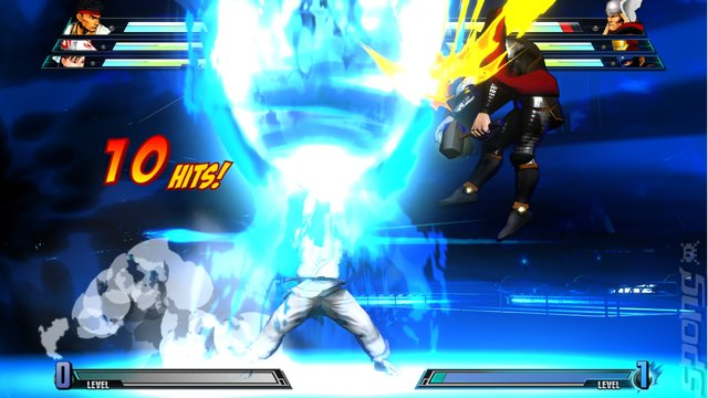 Marvel vs. Capcom 3: Fate of Two Worlds - PS3 Screen