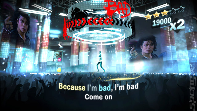 Michael Jackson: The Experience - Xbox 360 Screen