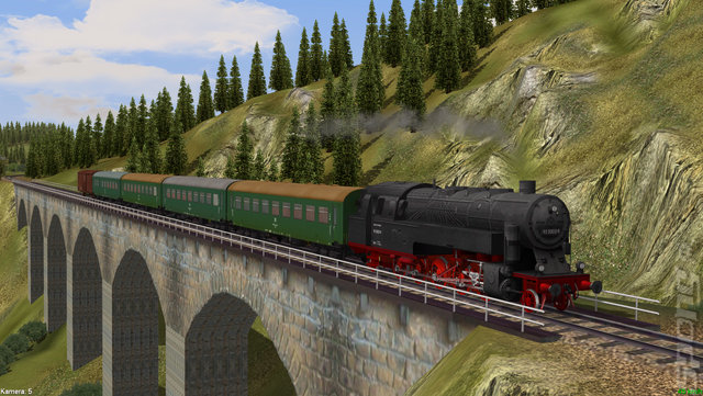 Pc game train simulator