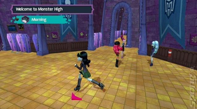 Monster High: New Ghoul in School - Wii Screen