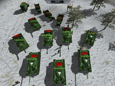 Moscow to Berlin: Red Siege - PC Screen