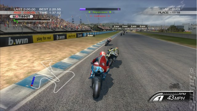 MotoGP 10/11 - PS3 Screen