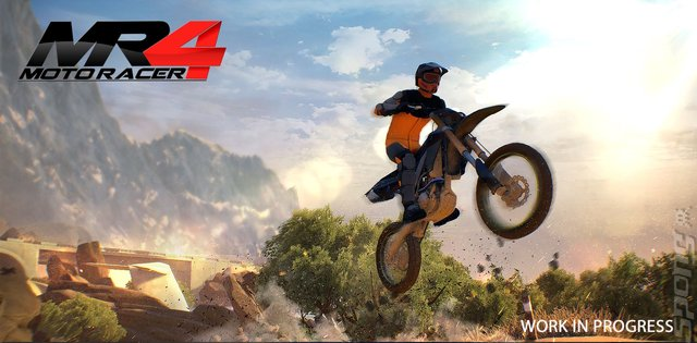 Moto Racer 4 - Switch Screen