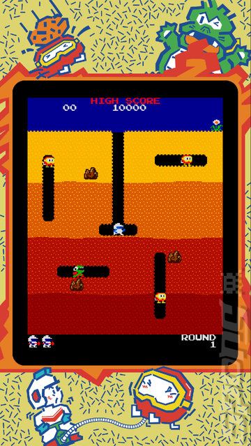 NAMCO MUSEUM ARCADE PAC - Switch Screen