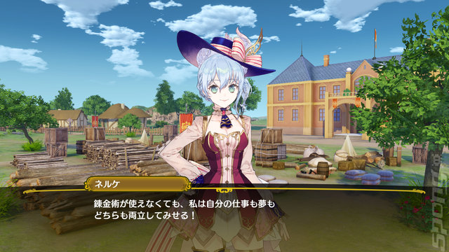 Nelke & the Legendary Alchemists: Ateliers of the New World - PS4 Screen