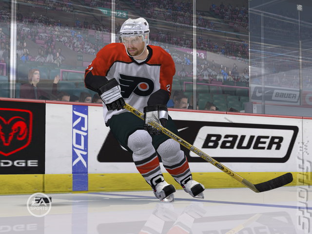 NHL 07 - PS2 Screen