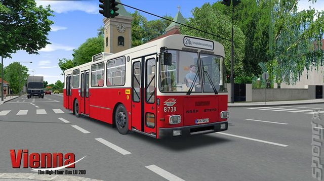 OMSI 2 Add-On: Vienna: The High-Floor Bus LU 200 - PC Screen