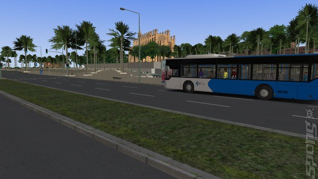OMSI 2 Add-on Scenery Mallorca - PC Screen