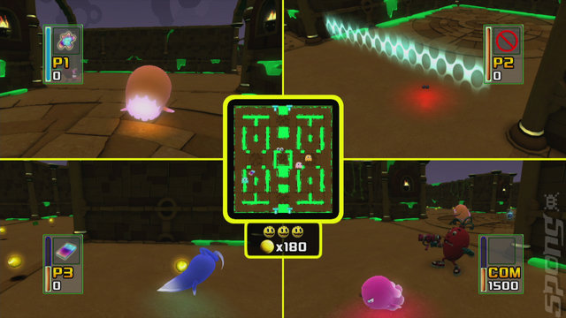 Pac-Man and the Ghostly Adventures - PC Screen