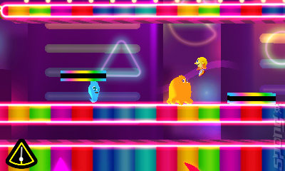 Pac-Man & Galaga: Dimensions - 3DS/2DS Screen