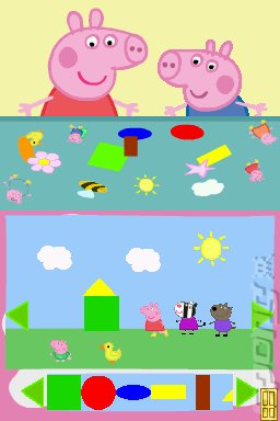 Peppa Pig: Fun and Games - DS/DSi Screen