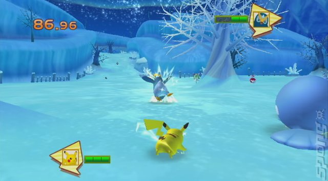 PokePark Wii: Pikachu's Adventure - Wii Screen