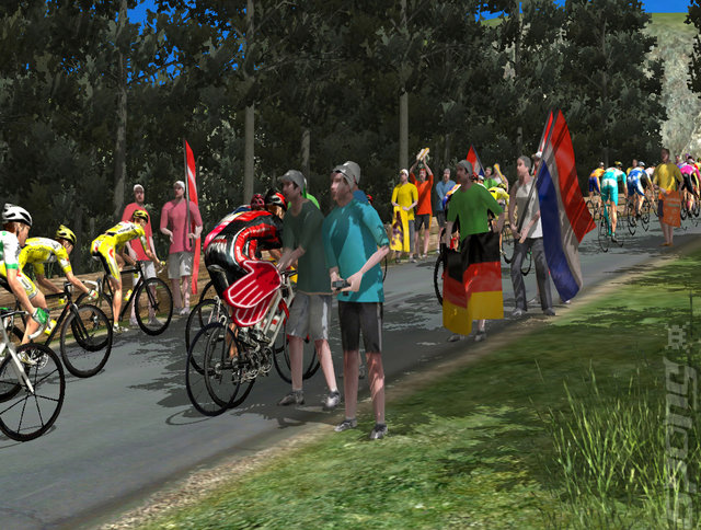 Pro Cycling Manager Season 2007 - PC Screen