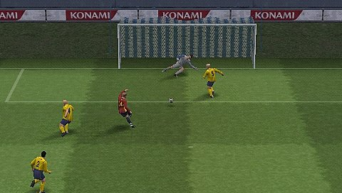 Screens: Pro Evolution Soccer 5 - PSP (5 of 6)