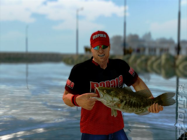 Screens rapala pro bass fishing wii 1 of 6 for Wii u fishing game