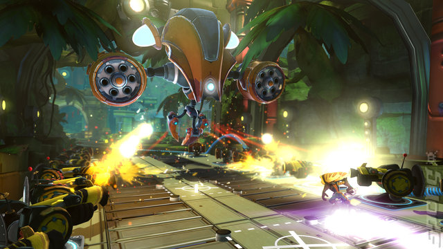 Ratchet & Clank: QForce Editorial image