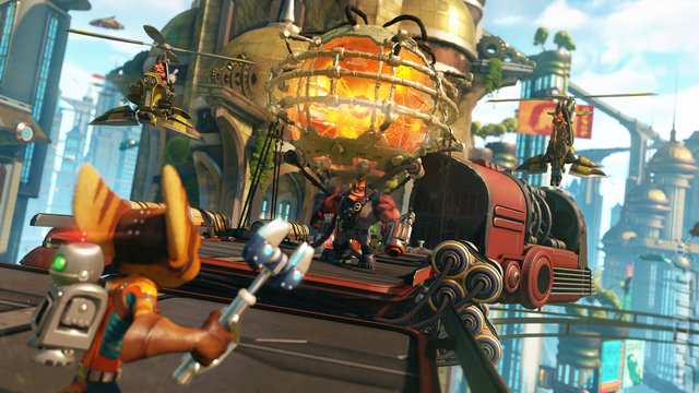 Ratchet & Clank Editorial image