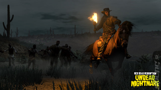 Red Dead Redemption: Undead Nightmare - Xbox 360 Screen