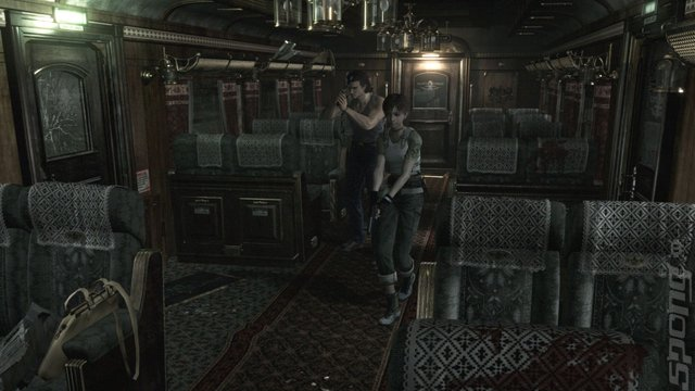 Resident Evil 0 - PS3 Screen