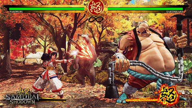 Samurai Shodown - PS4 Screen