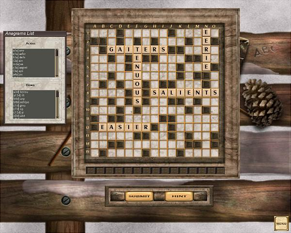 Scrabble Interactive 2005 Edition - PC Screen