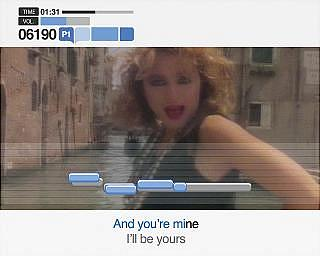 SingStar Party - PS2 Screen