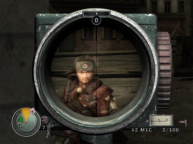 Sniper Elite - Xbox Screen