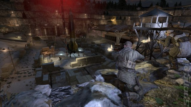 Sniper Elite V2 - Xbox 360 Screen
