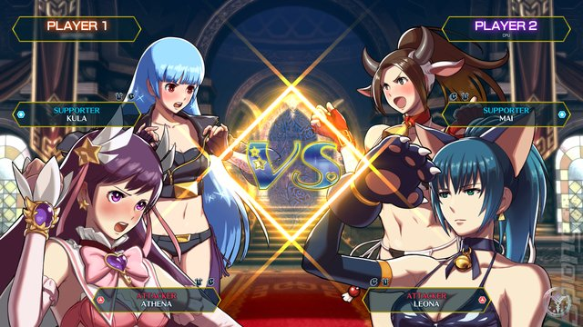 SNK HEROINES Tag Team Frenzy - Switch Screen