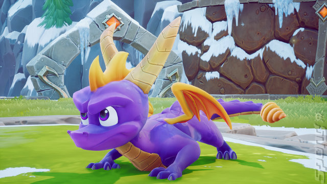 Spyro Reignited Trilogy - Switch Screen