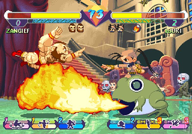 Street Fighter Alpha Anthology - PS2 Screen